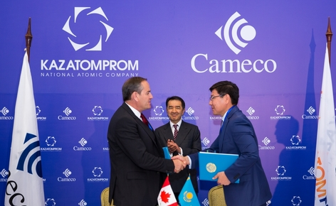 Cameco and Kazatomprom Sign Agreement to Restructure JV Inkai